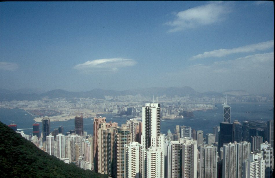 Hong Kong, one of the worl's most compact and connected cities J. Ashley Nixon Photography