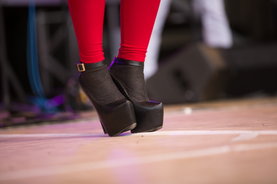 Dancing, singing shoes © J. Ashley Nixon