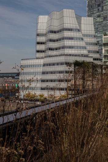 Frank Gehry designed IAC headquarters (completed 2007) © J. Ashley Nixon