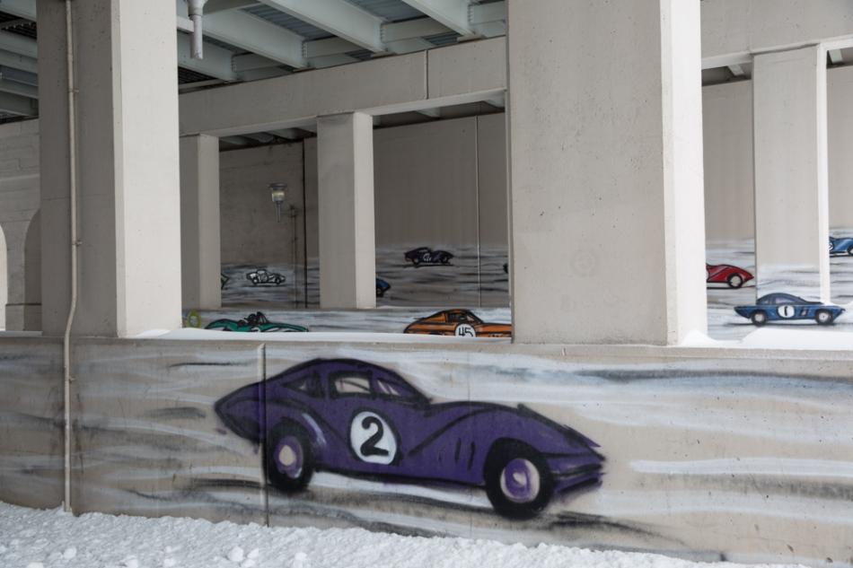 Da Race by Mitchell Schorr, Dequindre Cut, Detroit © J. Ashley Nixon