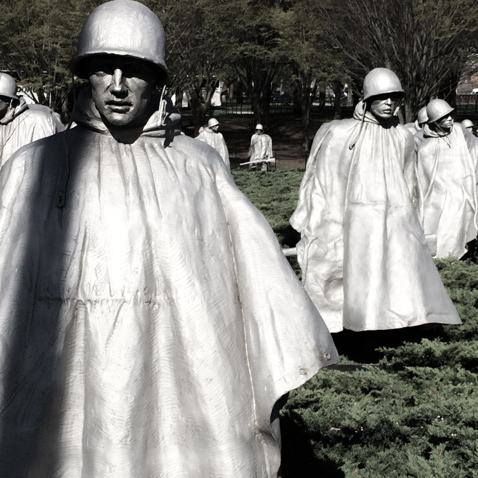Korean War memorial © J. Ashley Nixon