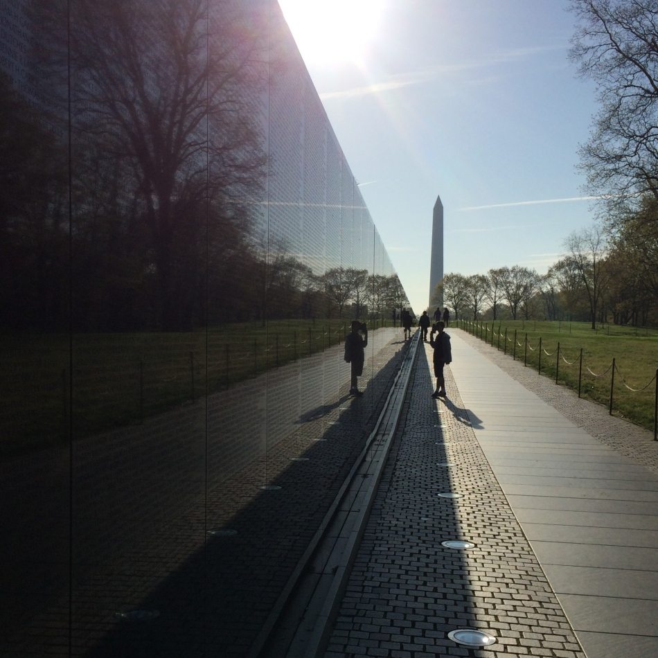 Vietnam War Memorial, Washington DC. © J. Ashley Nixon
