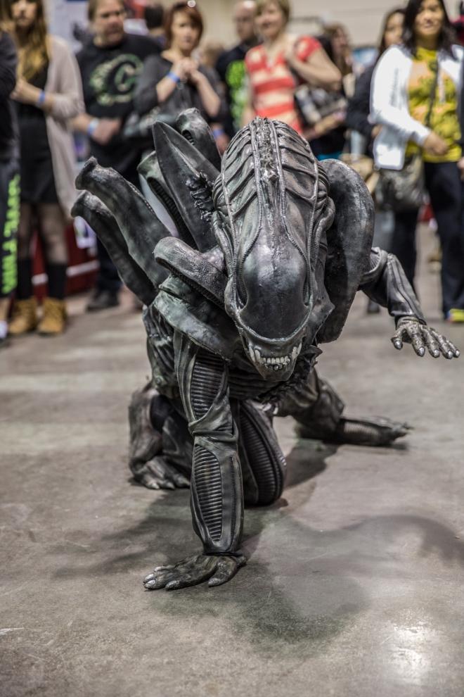 Xenomorph from Alien © J. Ashley Nixon