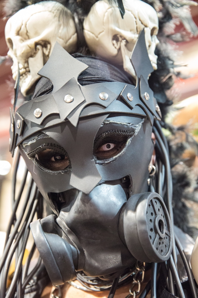 Character from Mad Max © J. Ashley Nixon