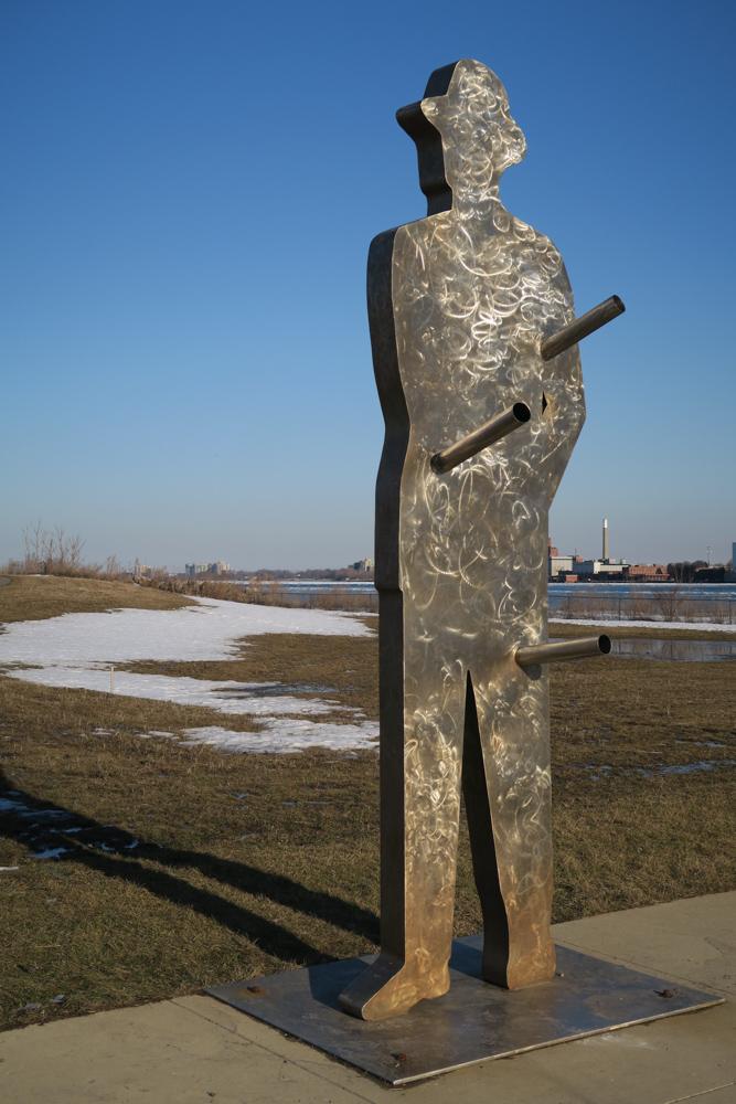 Man in the City by John Sauve © J. Ashley Nixon