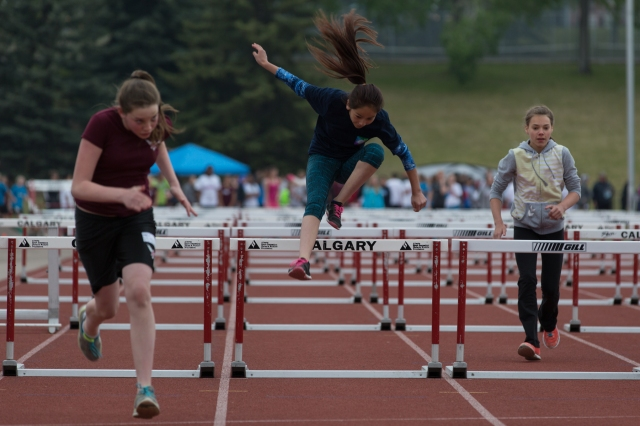 Hurdles (80 m) race © J. Ashley Nixon