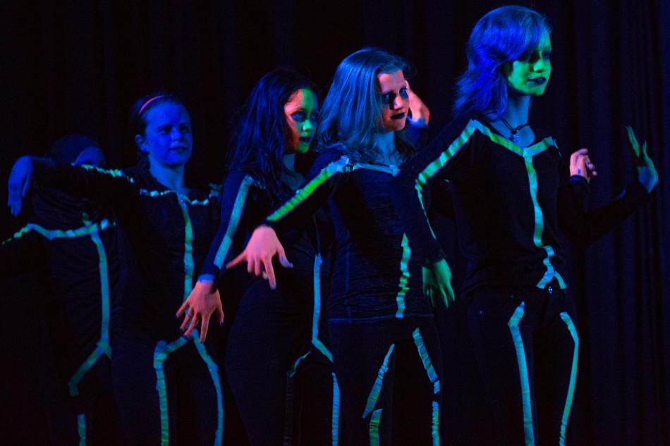 PVA performing Our Adventure through Darkness © J. Ashley Nixon