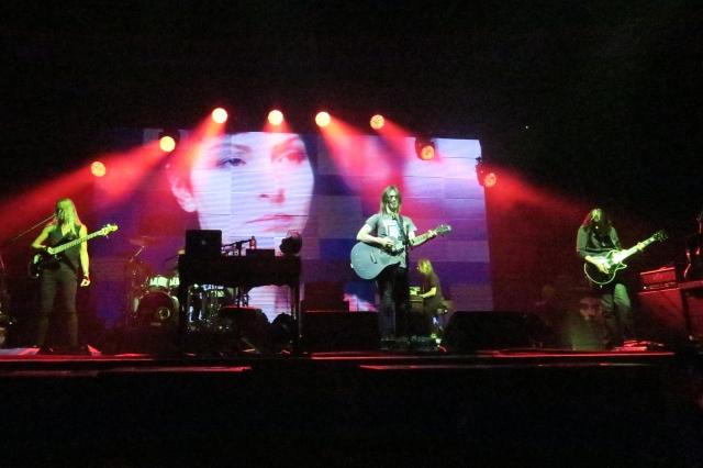 Multimedia show from Steven Wilson playing MacEwan Hall, Calgary © J. Ashley Nixon