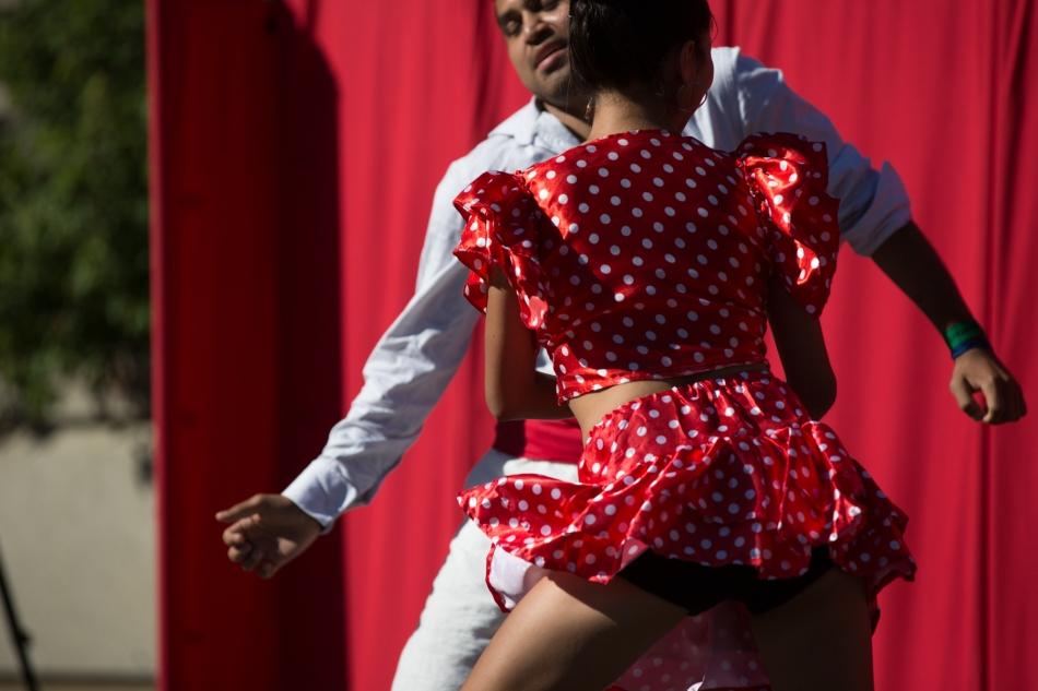 Afro-Peruvian dancing (Festejo) © J. Ashley Nixon