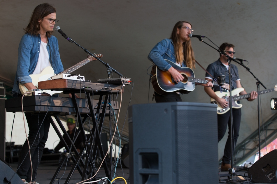 The Wooden Sky at Calgary Folk Music Festival, July 23, 2015 © J. Ashley Nixon