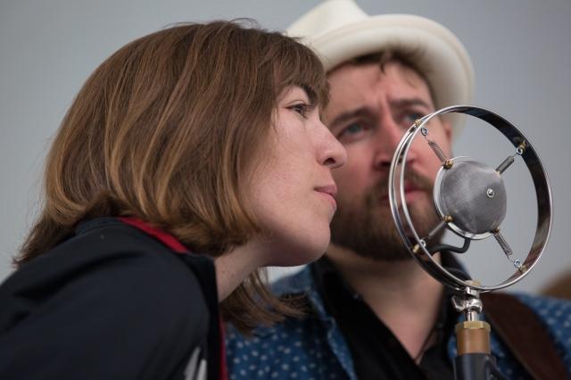 The Stray Birds playing at Calgary Folk Music Festival, July 26, 2015 © J. Ashley Nixon