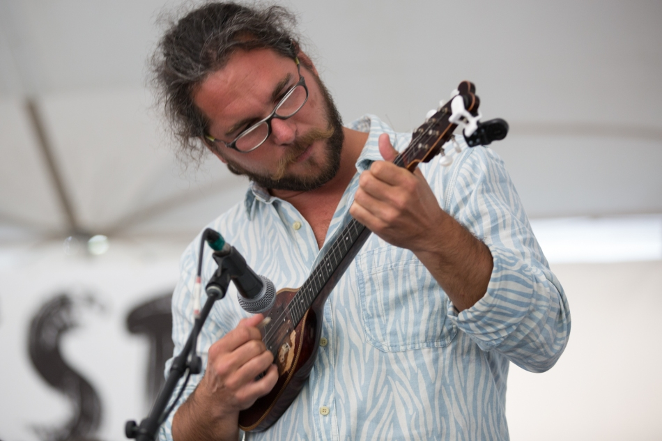 Traditional Hungarian music from Söndörgö at Calgary Folk Music Festival, July 26, 2015 © J. Ashley Nixon