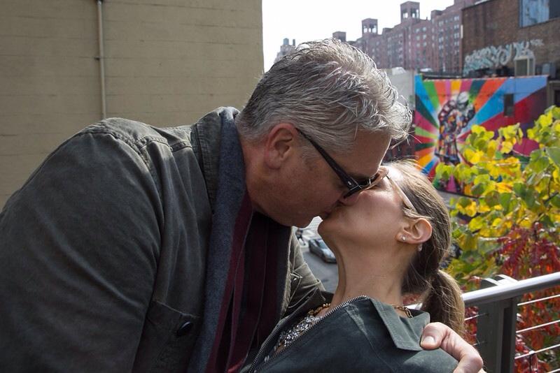 A kiss in front of O Beijo J. Ashley Nixon