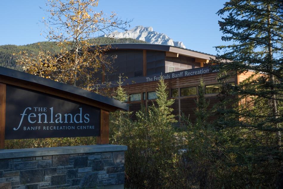 The Fenlands Banff Recreation Centre © J. Ashley Nixon