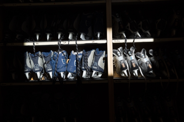 Light and shadow on skates (1) © J. Ashley Nixon