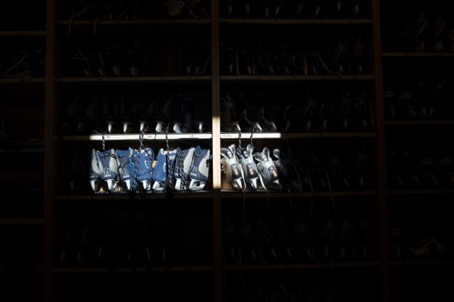 Light and shadow on skates (2) © J. Ashley Nixon