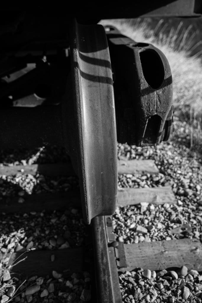 Prairie train #2, Lethbridge County, Alberta © J. Ashley Nixon