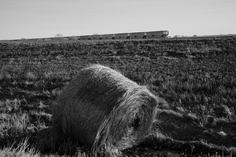 Prairie train #3, Lethbridge County, Alberta © J. Ashley Nixon