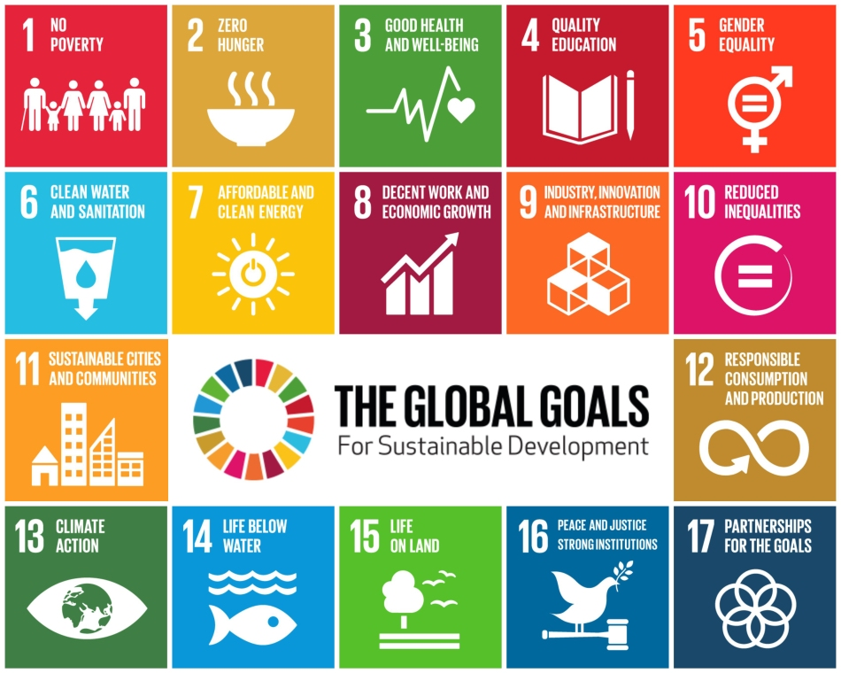 UN Sustainable Development Goals Source: http://www.un.org/sustainabledevelopment/