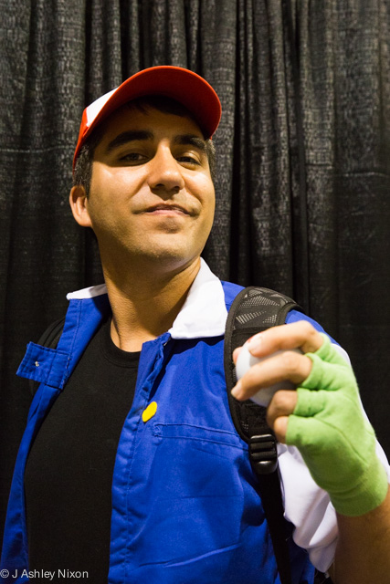 Ash Ketchum from Pokémon at the Calgary Expo © J. Ashley Nixon
