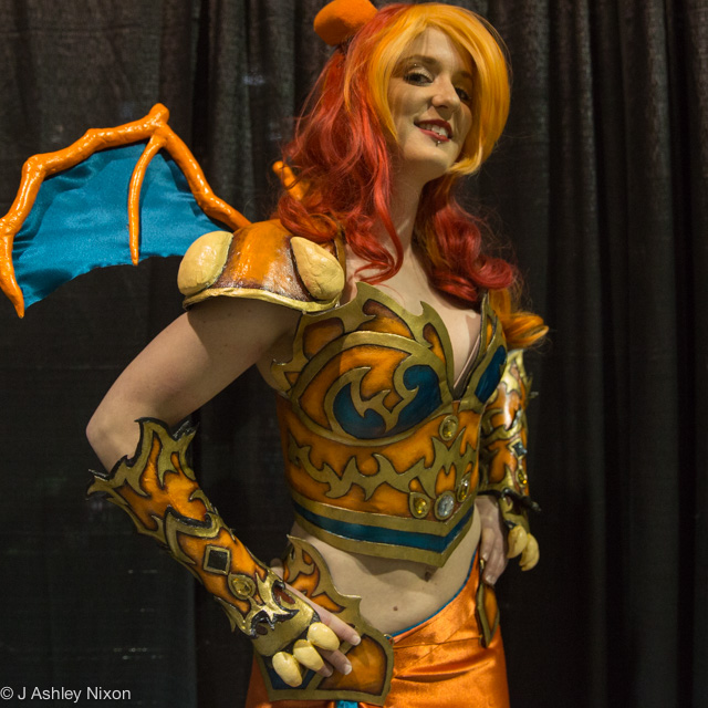 Charizard from the Final Evolution of the First Gen Starter Pokémon at the Calgary Expo © J. Ashley Nixon