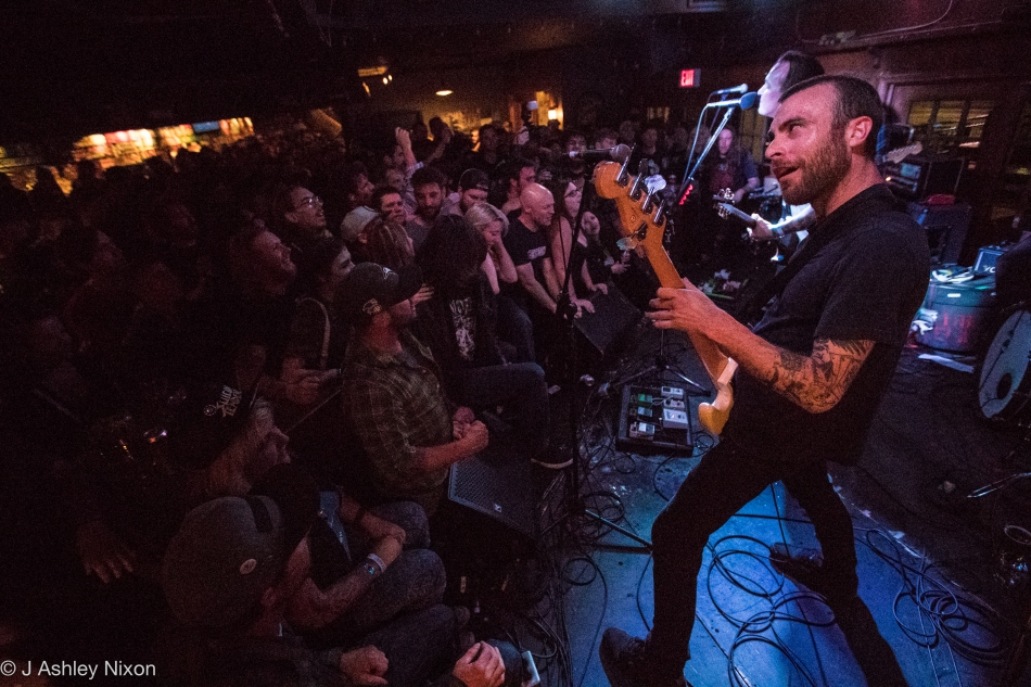 The Flatliners playing at The Ship & Anchor during the 2016 Sled Island Music Festival in Calgary, Alberta, Canada © J. Ashley Nixon