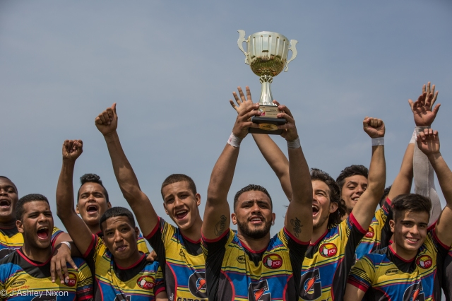 Colombia, champions of the South America U18 rugby tournament, 2016. Chiclayo, Peru. © J. Ashley Nixon