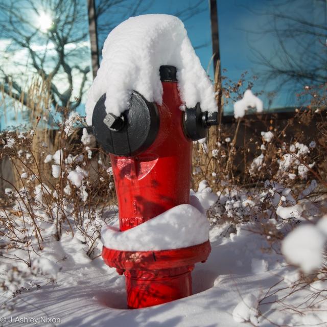 Snowy fire hydrant © J. Ashley Nixon