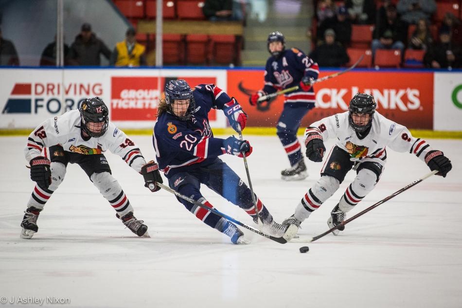 Valley West Hawks Tie Up Regina Pat Canadians Macstournament